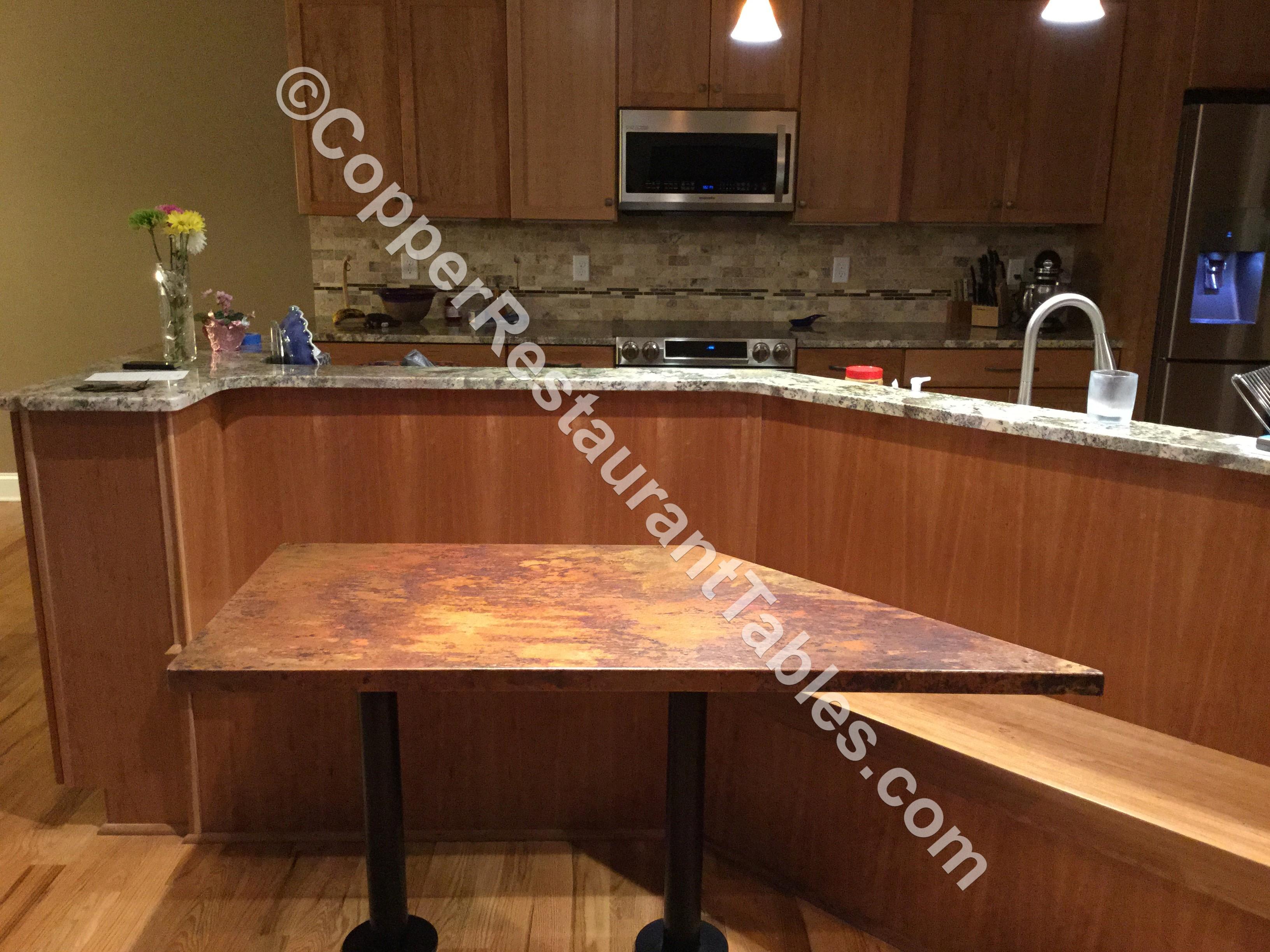 vanity copper decobizz com countertop